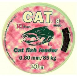 návazcová šňůra na sumce CAT fish leader 0,80/85kg