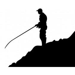 samolepka rybář  1