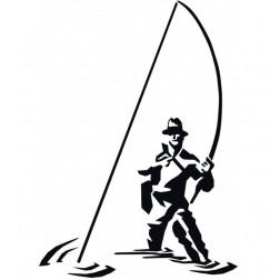 samolepka rybář  2