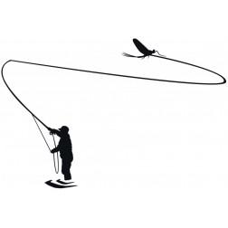 samolepka rybář  3
