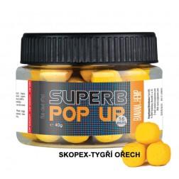 Superb Pop Ups - 40 g/16 mm skopex-tygří ořech
