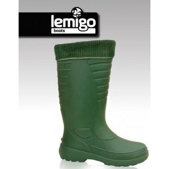 Holínky LEMIGO THERMO zelené