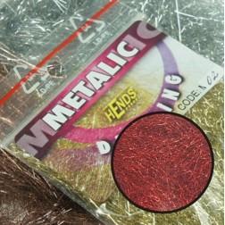 Metalic dubbing - červená