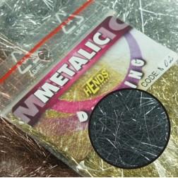 Metalic dubbing - kovově šedá