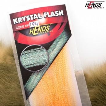 Krystal Flash - 194 lososovo žlutá