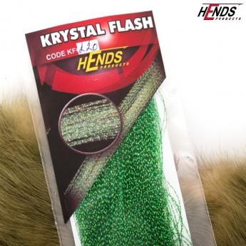 Krystal Flash - 220 zelená tmavá