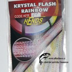 Krystal Flash Raingow - 01 bílá