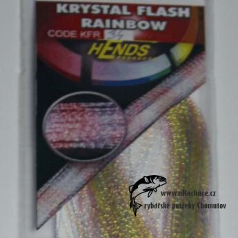 Krystal Flash Raingow - 34 zelená