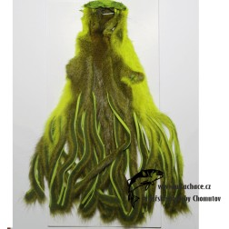 Pine Squirrel Skin Zonked Fluo Chartreuse
