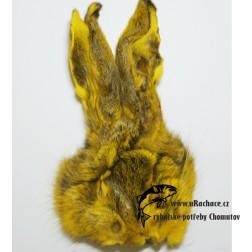 zaječí maska - žlutá