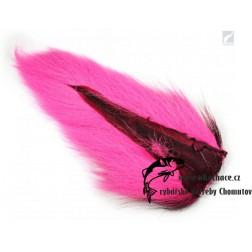 Bucktail Pieces - pink