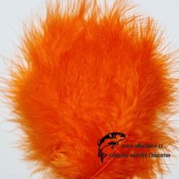 peří Marabou 03 - oranžová světlá