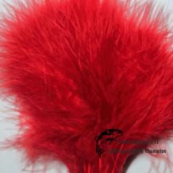 peří Marabou 03 - oranžová tmavá