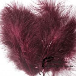 peří Marabou 08 - fialová tmavá