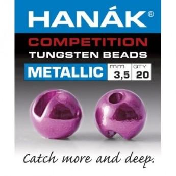 Tungstenové hlavičky Metallic růžová