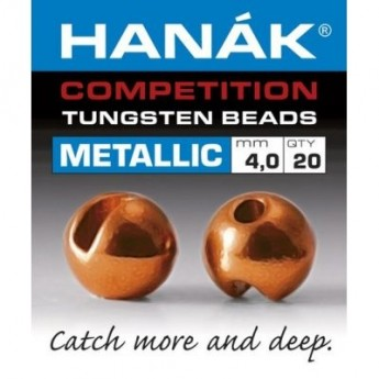 Tungstenové hlavičky Metallic oranžová