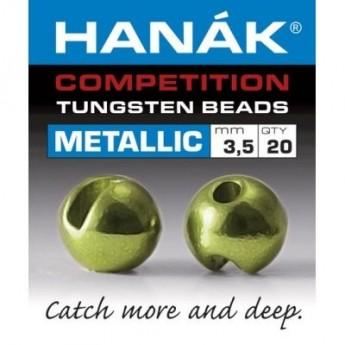 Tungstenové hlavičky Metallic olivové