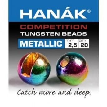Tungstenové hlavičky Metallic duhové