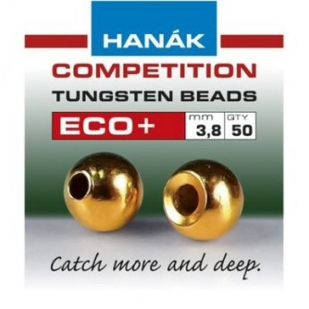Tungstenové hlavičky ECO+  zlatá