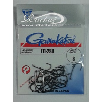 muškařské háčky Gamakatsu F11-2SH
