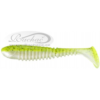 Berkley Flex Rib Shad Cartreuse