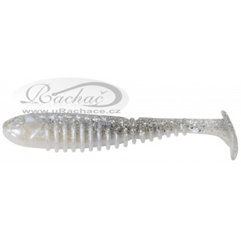 Berkley Flex Rib Shad Silver Magic