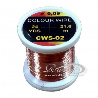 drátek Colour Wire 02 - měděný