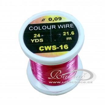drátek Colour Wire 16 - růžová