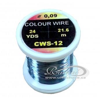 drátek Colour Wire 12 - modrá