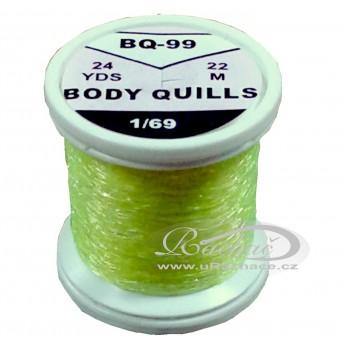 Body Quills BQ-99 fluo žlutá