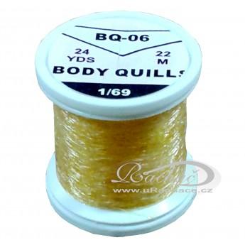 Body Quills BQ-06 žlutá