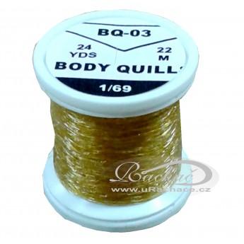 Body Quills BQ-03 okrová