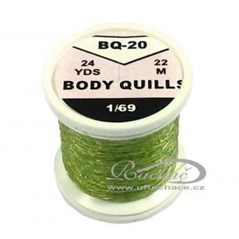 Body Quills BQ-20 zelená
