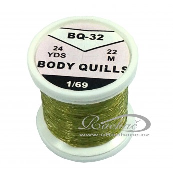 Body Quills BQ-32 olivově hnědá tmavá