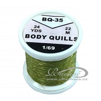 Body Quills BQ-35 olivově zelená