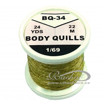 Body Quills BQ-34 olivově hnědá světlá