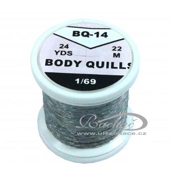 Body Quills BQ-14 ocelově šedá