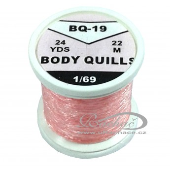Body Quills BQ-19 růžová