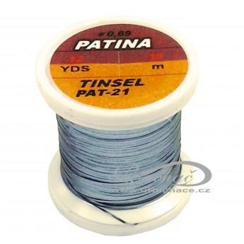 Patina Tinsel - 21 Gunmetall