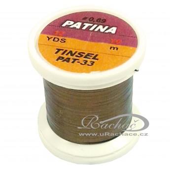 Patina Tinsel - 33 hnědá
