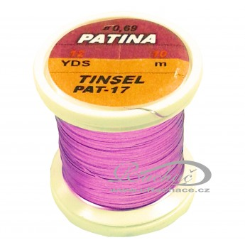 Patina Tinsel - 17 růžová
