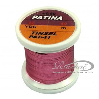 Patina Tinsel - 41 starorůžová