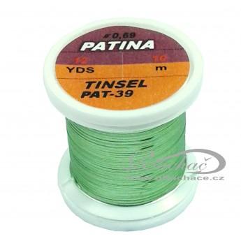 Patina Tinsel - 39 světle olivová