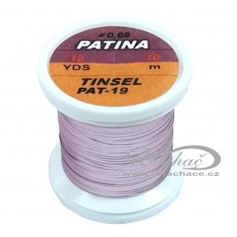 Patina Tinsel - 19 světle růžová