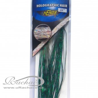 Holographic Hair 05 - zelená
