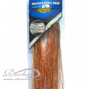 Holographic Hair 96 - oranžová