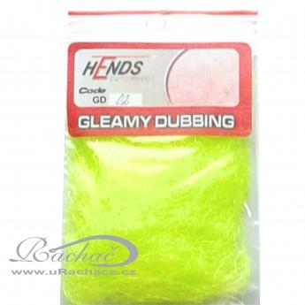 gleamy dubbing - 02 fluo žlutá