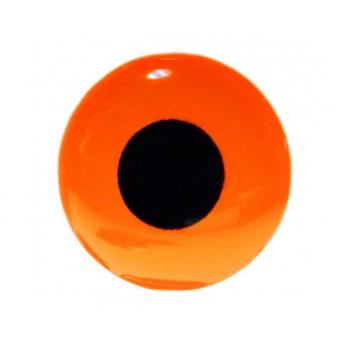3D Epoxy Eyes, Fluo Orange
