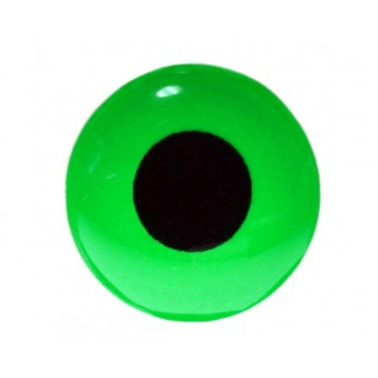 3D Epoxy Eyes, Fluo Green
