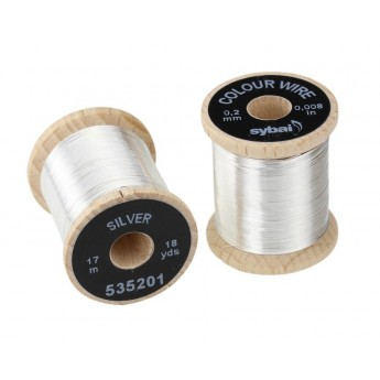 Colour Wire 0,2mm - Silver